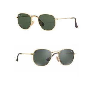 a1a958932368b Oculos Ray Ban Hexagonal Lentes Cristal - Óculos no Mercado Livre Brasil