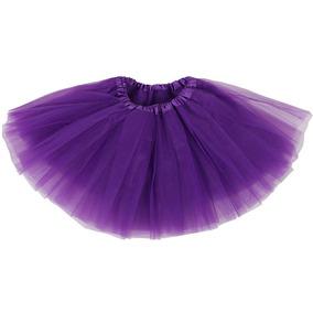 Purple - Girl/2-8years - Princess Tutu Falda Ballet Fie-0240