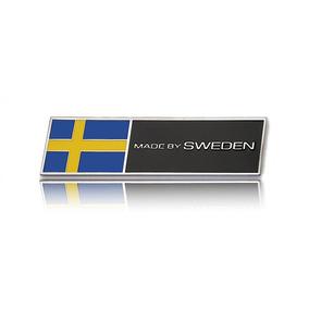 Emblema Metal Made By Sweden Para Volvo Xc60 S60 V60 V40 C30