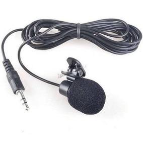 Mini Microfone Lapela 3.5mm Stéreo Youtubers