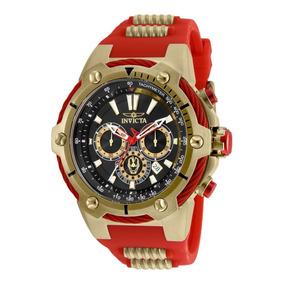 Reloj Invicta 25684 Acero Inoxidable Oro Rojo Hombres