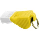 Apito Poker Tucano Pro Com Corda Amarelo 116 Decibéis