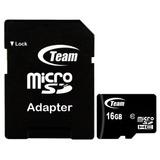 Memoria Microsd Team Group 16gb Clase 10 Adaptador A Sd