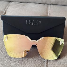 Oculos Feminino Espelhado De Sol Prada - Óculos no Mercado Livre Brasil 4c6efb973b