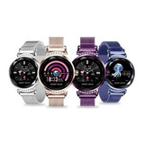 Smartwatch Metálico Dama H2 / Reloj Inteligente Mujer H2