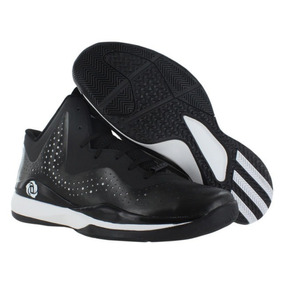 new product 17857 08b11 Tenis adidas C75721 D Rose 773 Iii Black White Basketball