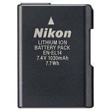 Bateria Li-ion Recargable En-el14 P/camara Nikon