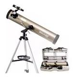 Telescopio Astronomico Galileo Reflector Valija 525x Aumento