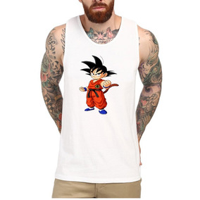 75dd889c59b31 Camiseta Regata Dragon Ball Z - Camisetas e Blusas no Mercado Livre ...
