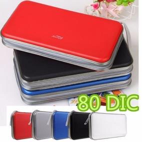 Porta Cd - 80 Discos - Cores Mistas