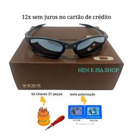 Bon S Espelhado - Óculos De Sol Oakley Juliet no Mercado Livre Brasil a7ca8ba192f