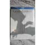 Blu-ray Game Of Thrones - Temp 3 Em Digipack - Leg Pt-br