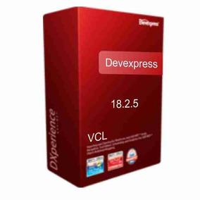 Devexpress 18.2.5 Vcl Rad Studio Delphi Rio - Versão Nova!