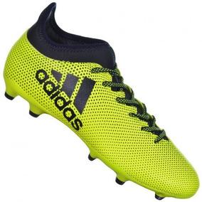 Chuteira Adidas Verde Limao - Chuteiras Adidas para Adultos no ... 00cda8ece629e