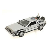 Delorean Time Machine Back To The Future Parte 2 1/24 Welly
