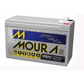 Bateria Moura Vrla - 12v 9ah P/ Nobreak, Bike, Alarme Nf