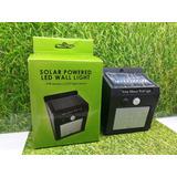 Mini Luminario Lampara Solar Con Sensor De Movimieto