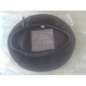 786224e17cda0 Boina Negra Militar Con Escudo en Mercado Libre Venezuela