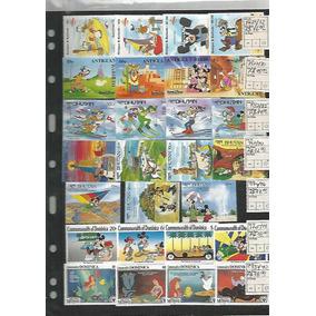 Conjunto De 50 Series Completas Novos Mint,tematicos Disney