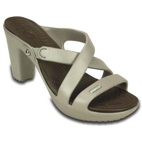 1ad648dad04 Sandalias Blanca Dama Tacon Medio - Zapatos en Mercado Libre México