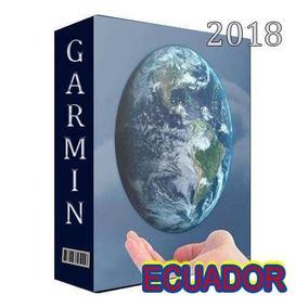 Mapa Gps Garmin Ecuador Jun-2018
