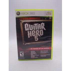 Guitar Hero 5 Xbox 360 Original Mídia Física