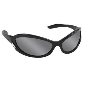 Oculos Sol Espelhado Spy Crato 42 Original Preto Lente Cinza 36bfc49809