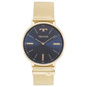 c6d5f7c66d6 Relógio Euro Azul Marinho E Dourado - Relógios De Pulso no Mercado ...