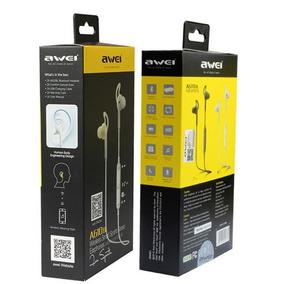 Fone De Ouvido Esportes Awei A610bl Bluetooth Preto