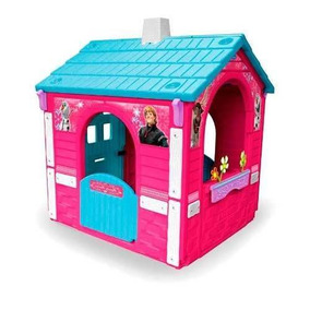 Casita Jardin Juegos Infantil Country House Frozen Injusa