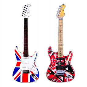 Kit Guitarra Decorativa Evh E Eagle - Grande 78cm