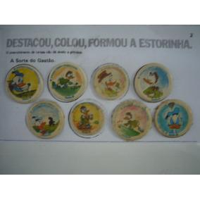 Coleção Completa 96 Vedantes Tampinha Bingola Disney