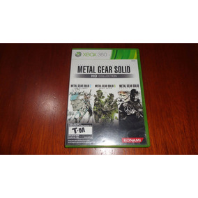 Metal Gear Solid Hd Collection - Xbox 360 - Leia Descrição