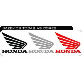 Emblema Asas Honda Plotado Para Tanque De Motos Fan 150 Bros