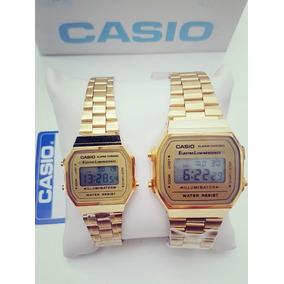 b1624574f3d5 Reloj Casio Negro Con Dorado Mini - Relojes en Mercado Libre México