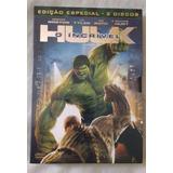 Dvd - O Incrível Hulk - Original - Edição Especial C/luva