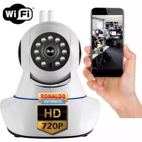 Câmera Segurança Ip Interna Wifi 360 Visão Noturna Celular