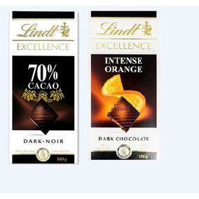 Chocolate Lindt Excellence X100x5unidades