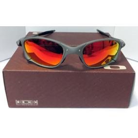 Oculos Do Demolidor Redondo Vermelho De Sol Oakley - Óculos De Sol ... a3cd752795