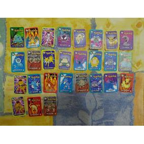 Cards Tazo Figurinhas Pokémon
