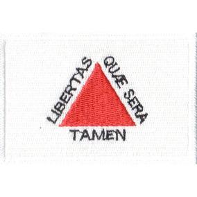 Patch Talysma P/ Camiseta Jaqueta - Bandeira De Minas Gerais