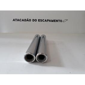 Ponteira Escapamento Fusca Fusquinha Cromada(kit C/06 Peças)