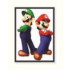 Pôster Mario E Luigi - Pequeno
