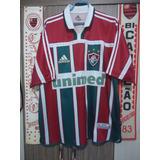 03b3281c43 Camisa Fluminense Grená Adidas - Futebol no Mercado Livre Brasil