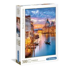 Quebra Cabeça Clementoni 500 Peças Veneza Iluminada 35056