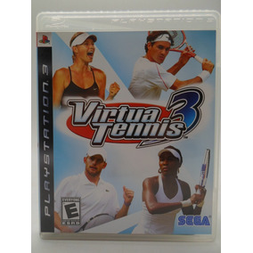 Virtua Tennis 3 Play Station 3 Original Mídia Física