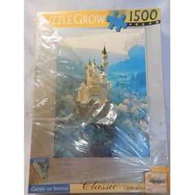 Quebra Cabeça - Castelo No Inverno - Grow - 1500 Pçs