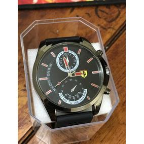 Relógio Ferrari Masculino Preto + Caixinha