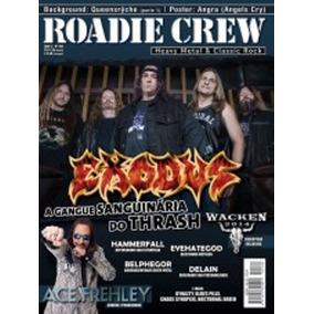 Revista Roadie Crew Ano 17 Nº189 Sem Pôster - Exodus - Leia