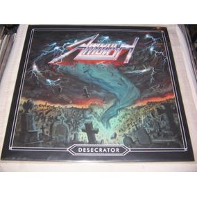 Ambush Desecrator Lp Blue Firestorm Iron Maiden Metallica